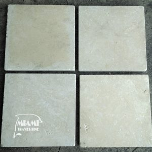 TRAVERTINE PAVERS 16X16 IVORY