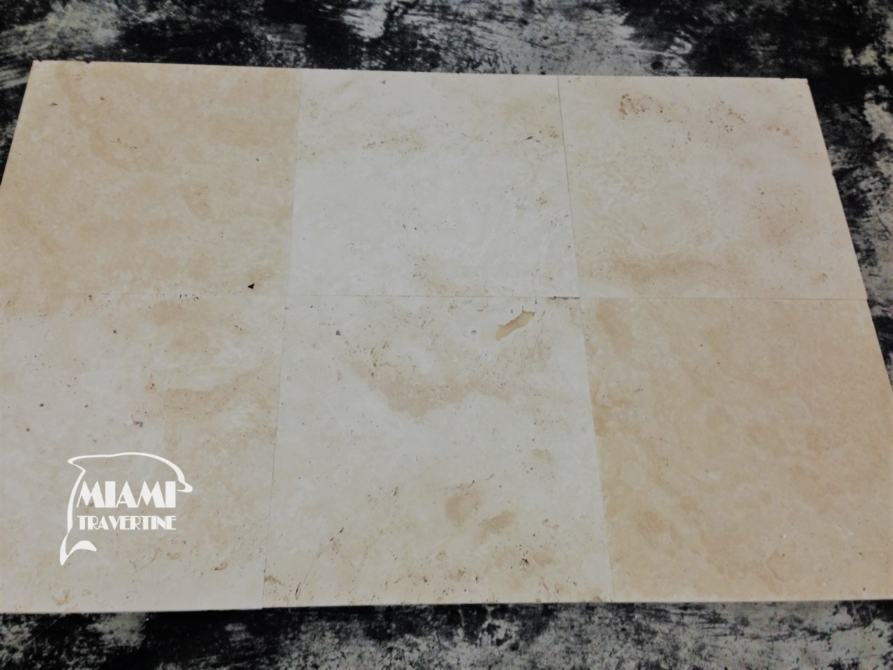 TRAVERTINE PAVER IVORY 24X24