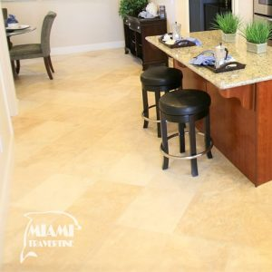 TRAVERTINE TILE HONED FILLED 18X18 IVORY CLASSIC 02