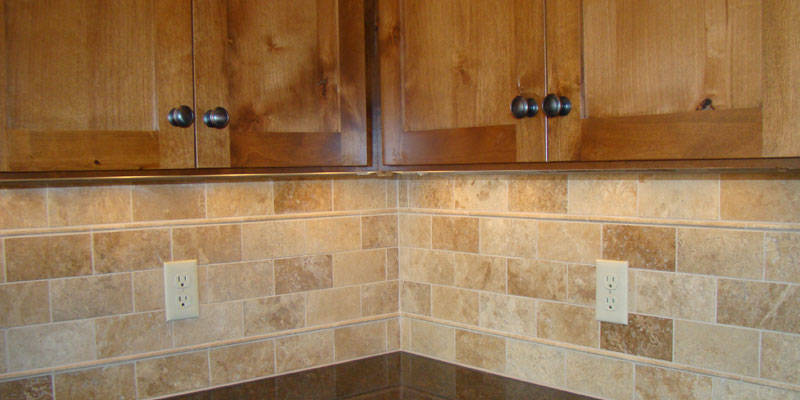 Intensify the Look of Your Kitchen with Travertine Tiles ...