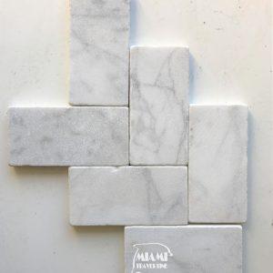 MARBLE PAVER WHITE CARRARA 6X12 01