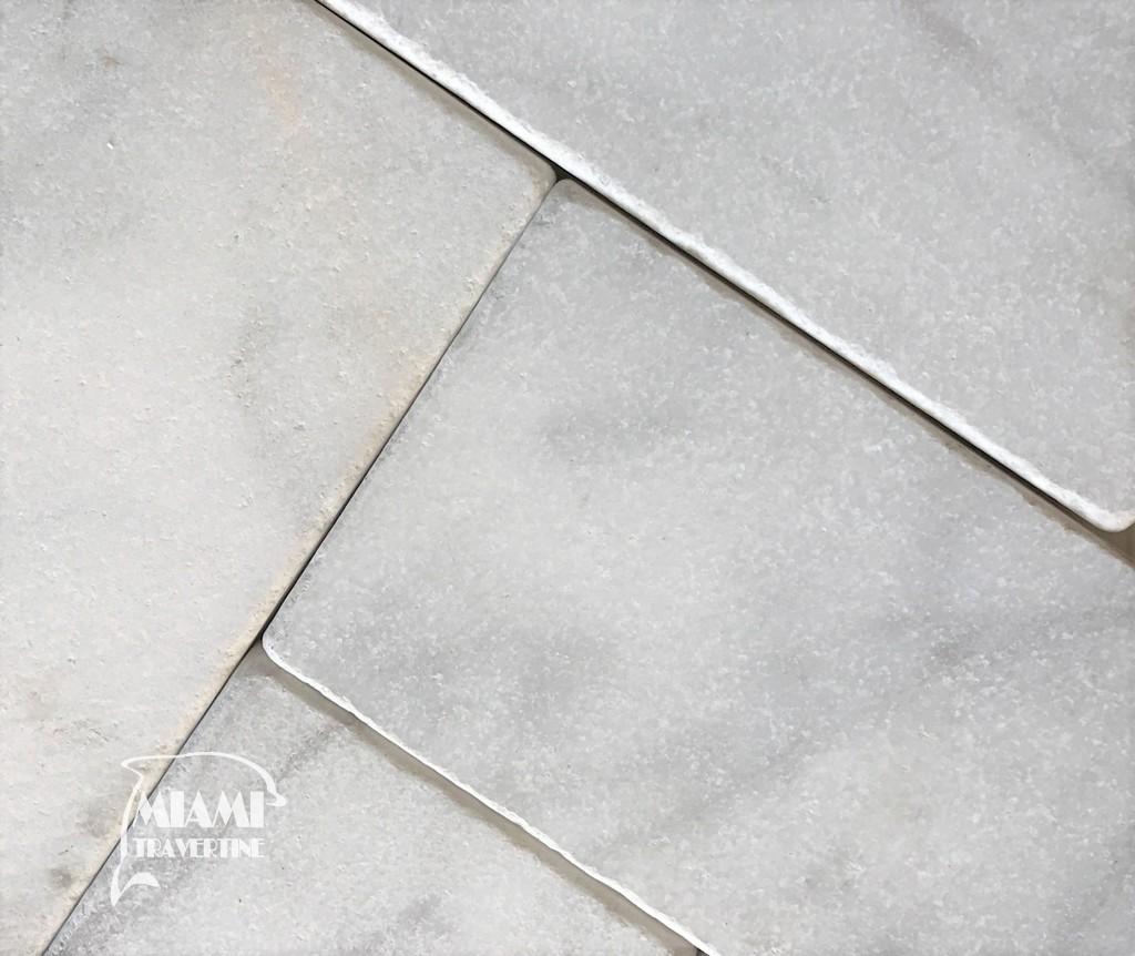 MARBLE PAVER WHITE CARRERA 6X12 02