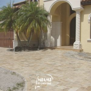 TRAVERTINE PAVER 6X12 IVORY 06