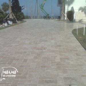 TRAVERTINE PAVER 6X12 IVORY 07