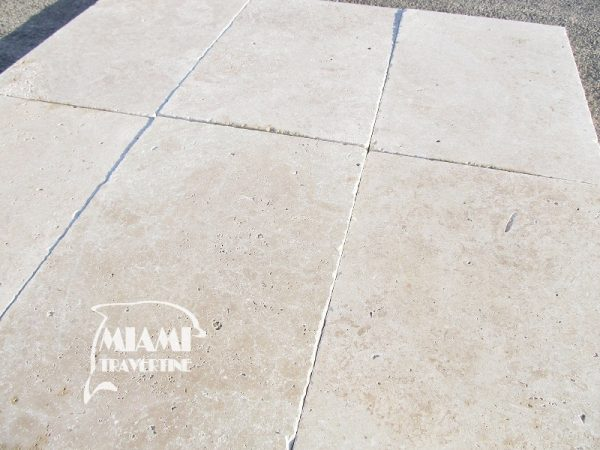 TRAVERTINE PAVER IVORY 16X24