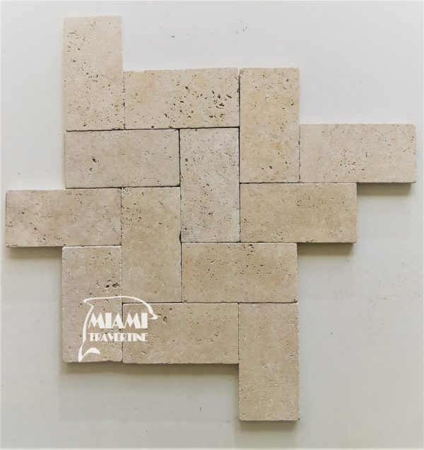 Travertine Pavers 6x12 Ivory