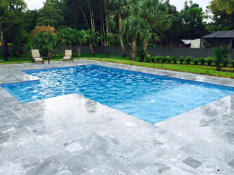 BLUE SKY MARBLE PAVER FRENCH PATTERN 03