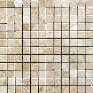 CAPPUCCINO MARBLE MOSAIC 1X1