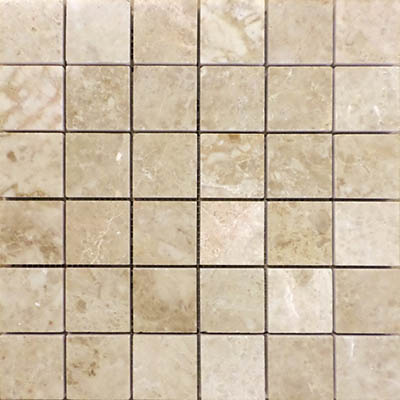 CAPPUCCINO MARBLE MOSAIC 2X2