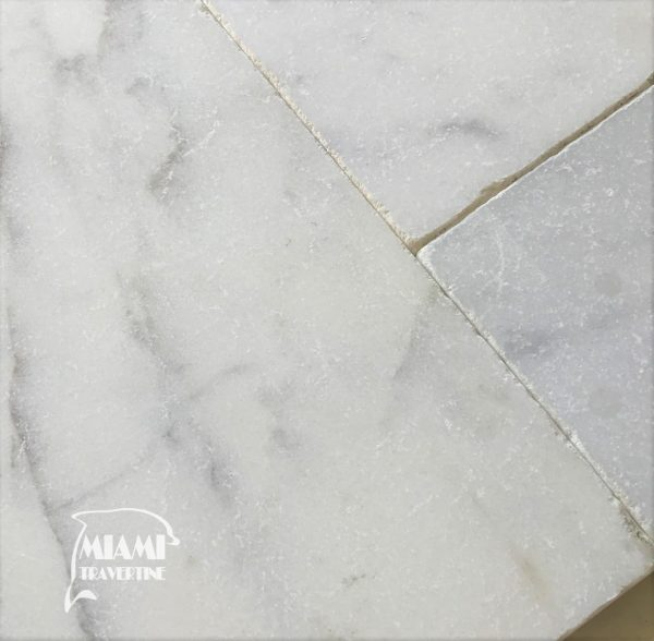 MARBLE PAVER WHITE CARRARA FRENCH PATTERN 02