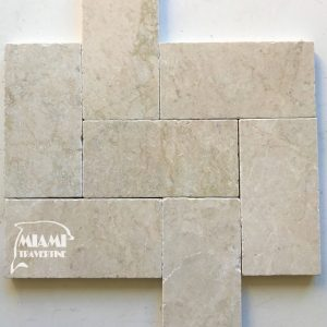PEARL BEIGE MARBLE PAVER 6X12 01