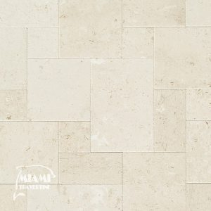 SHELLSTONE LIMESTONE TILE FRENCH PATTERN 01