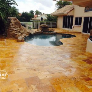 TRAVERTINE FRENCH PATTERN GOLD 03