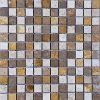 TRAVERTINE MOSAIC MIXED 1X1