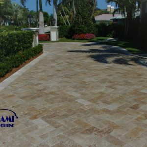 TRAVERTINE PAVER 6X12 NOCHE