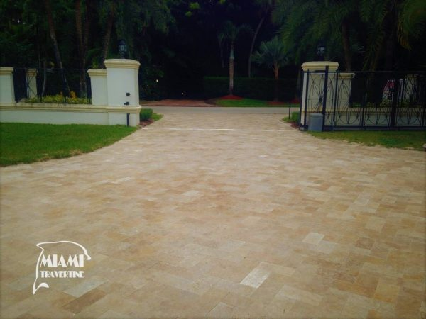 TRAVERTINE PAVER COUNTRY CLASSIC 6X12 03