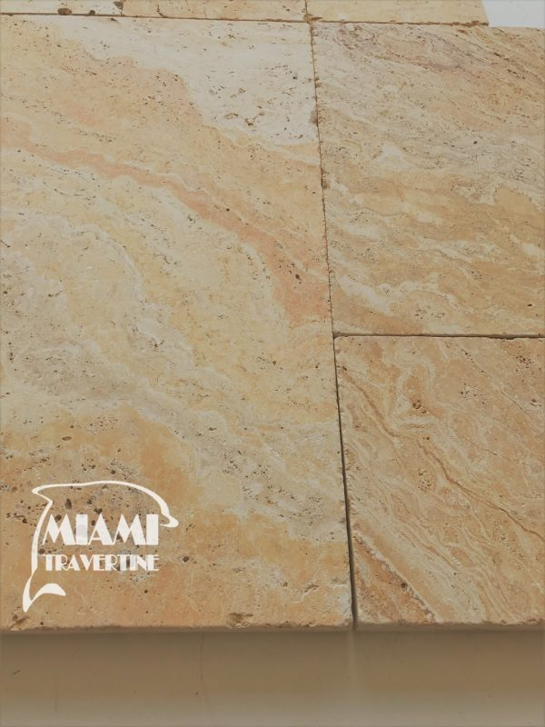 TRAVERTINE PAVER FRENCH PATTERN AUTUMN BLEND 02