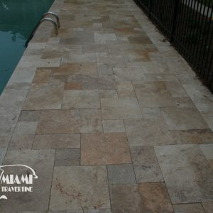 TRAVERTINE PAVER FRENCH PATTERN COUNTRY CLASSIC 05