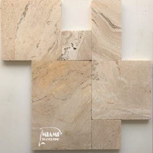 TRAVERTINE PAVER FRENCH PATTERN LEONARDO 01