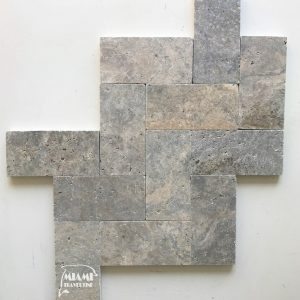 TRAVERTINE PAVER SILVER 6X12 01