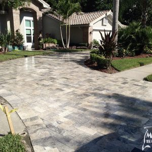 TRAVERTINE PAVER SILVER 6X12 03