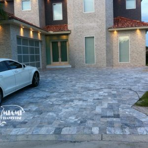 TRAVERTINE PAVER SILVER 6X12 04