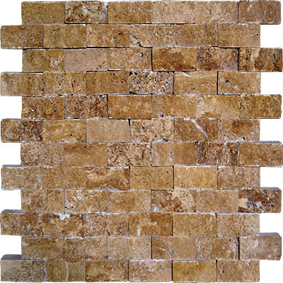 TRAVERTINE SPLIT FACE NOCHE 1X2