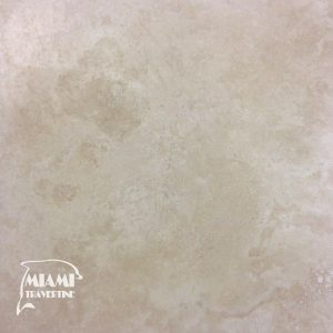 TRAVERTINE TILE HONED FILLED 18X18 IVORY SELECT 01