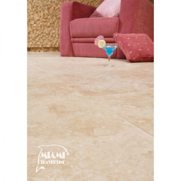 TRAVERTINE TILE HONED FILLED 24X24 IVORY SELECT 04