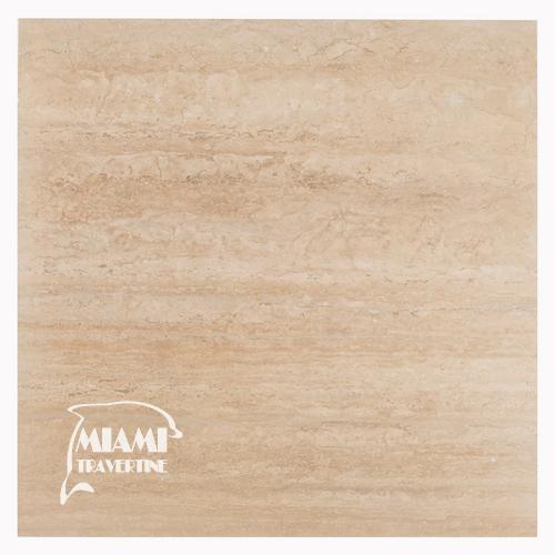 TRAVERTINE TILE VEIN CUT 24X24 IVORY 01