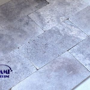 TRAVERTINE PAVER 12X24 SILVER